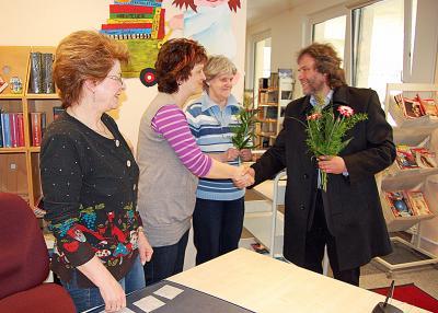 Foto zu Meldung: Calauer Stadtbibliothek hat wieder geöffnet