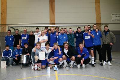 Foto zur Meldung: Heinersdorfer Fußballer veranstalten eigenes Hallenturnier!
