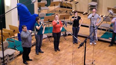 Foto zur Meldung: Fanfarenzug Potsdam beendet Aufnahmen für neue CD