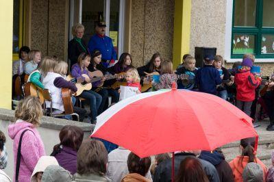 Foto zur Meldung: Die Grundschule öffnete ihre Türen
