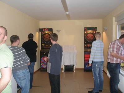 Foto zur Meldung: Dartturnier im Jugendclub in Schilda