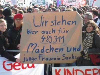 Foto zur Meldung: Gegen Kürzungen in der Jugendhilfe - für ein soziales Sachsen