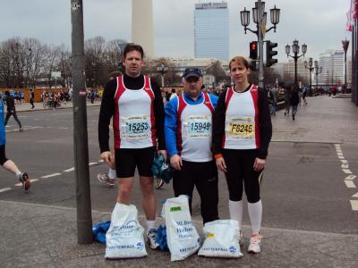 Foto zur Meldung: 30.Berliner Halbmarathon - ein Erlebnisbericht
