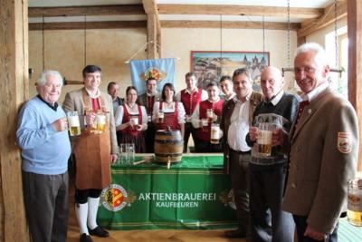 Bierprobe zum Bezirksmusikfest