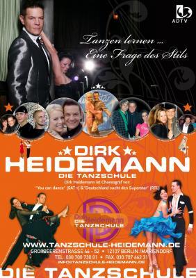 Tanzschule Dirk Heidemann jetzt auch in Baruth/Mark