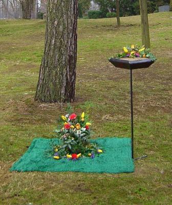 """Foto zur Meldung: Naturnahe Bestattungen """"Urnenbeisetzung unter Bäumen"""" ab sofort auf den städtischen Friedhöfen in Falkensee möglich"""