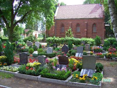 Foto zur Meldung: Überprüfung der Grabsteine in Kürze