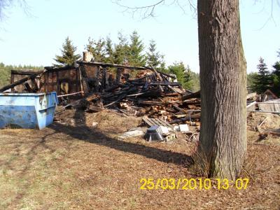 Vorschaubild zur Meldung: vor 10 Jahren: Brand in Schwarzenburg