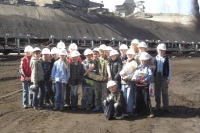 Foto zur Meldung: Besuch im Tagebau Jänschwalde