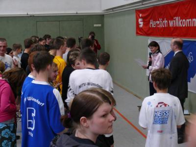 Der Sparkassen-Streetsoccer-Cup 2010 an der Freien Oberschule Baruth
