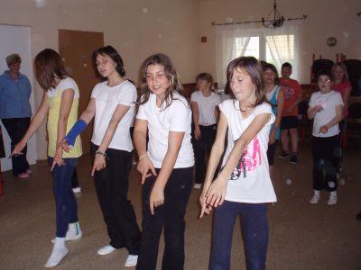 Foto zur Meldung: Workshop Tanzgruppe 2010 in Gröden