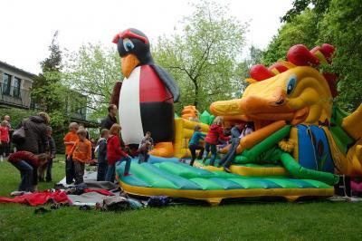 Foto zu Meldung: Tolles Kinderfest in der Calauer Stadtbibliothek