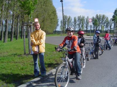 Foto zur Meldung: Praktische Fahrradprüfung 2010