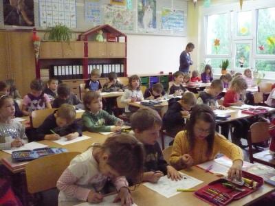 Foto zur Meldung: Schnupperschultag der Schulanfänger 2010