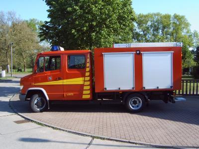 Foto zu Meldung: Übergabe Feuerwehrfahrzeug