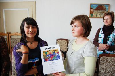 Foto zur Meldung: Mit Kreativität zum Landessieger im Europäischen Kunst-Wettbewerb