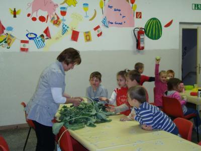 Foto zur Meldung: Gesundes Frühstück zum Kindertag