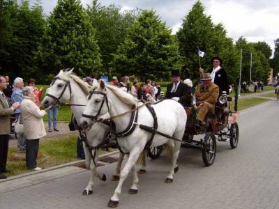 Foto zur Meldung: Höhepunkt des Festjahres -              725 Jahre Beerfelde