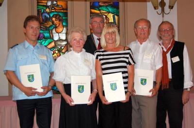 Vorschaubild zur Meldung: Kleine Taten ganz groß – Zum dritten Mal wurde der Falkenseer Bürgerpreis für ehrenamtliches Engagement verliehen