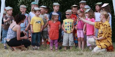 """Foto zur Meldung: Tigerkids auf Weltreise - Die kleinen """"Schwalben"""" haben ihr Sommerfest genossen"""