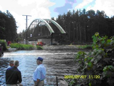 Vorschaubild zur Meldung: Neue Fahrradbrücke über den Oder-Havel-Kanal - Freigabe am 20. Oktober