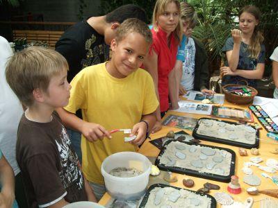 Foto zur Meldung: Biosphäre während der Ferienzeit: G(r)ips für Kids