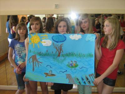 Foto zur Meldung: Schüleraustausch in den polnischen Masuren
