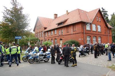 Foto zur Meldung: Bürgermeister-Motorradtour 2010 startet am 19. September