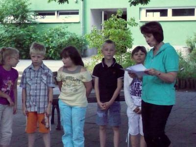 Foto zur Meldung: Schuljahresausklang