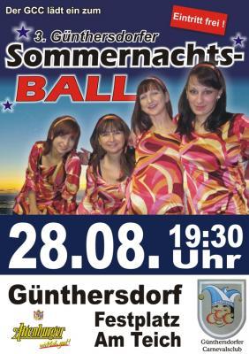 Foto zur Meldung: Günthersdorfer Sommernachtsball am 28. August 2010