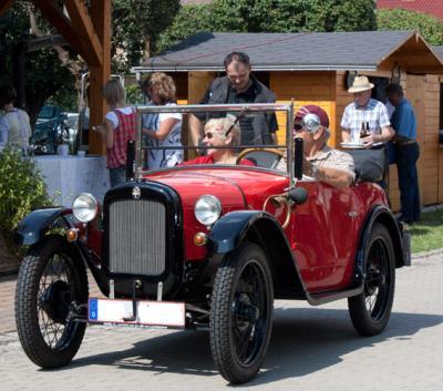 Foto zur Meldung: 6. Oldtimertreffen in Hirschfeld