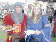 Foto zur Meldung: Ritterspiele an der Burg