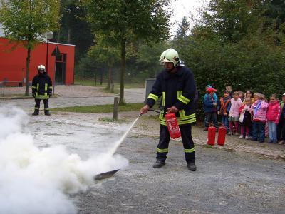 """Foto zur Meldung: Alarmübung für den Notfall in der Grundschule """"Teupitz am See"""""""