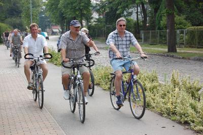 Foto zur Meldung: 20. Radtour der Falkenseer Stadtverordneten - Radeln Sie mit