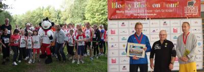 Foto zur Meldung: Blocky Block Spendenlauf in Laage