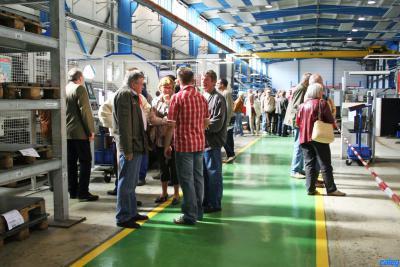 Foto zur Meldung: 20 Jahre Caleg – 65 Jahre Produktion am Standort Calau