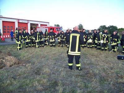 Bild der Meldung: Feuerlöschübung der EWE AG