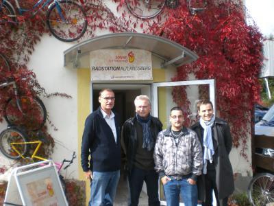 Bild der Meldung: Eröffnung der 2. Radstation der Jugendwerkstatt Hönow e.V. in Altlandsberg