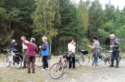 Foto zur Meldung: Fahrradtour von Calau zu den IBA – Terrassen