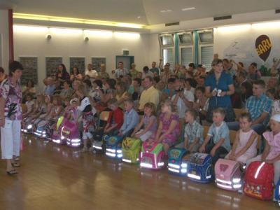 Foto zu Meldung: Großes Fest läutet den Schuljahresbeginn in der Grundschule Baruth/Mark ein