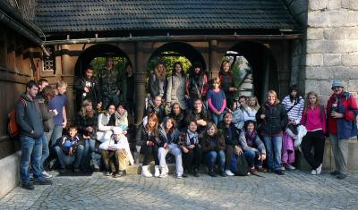 Foto zur Meldung: Schüleraustausch mit polnischer Partnerschule