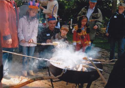 Bild der Meldung: Indianerfest in Kita Traumzauberland