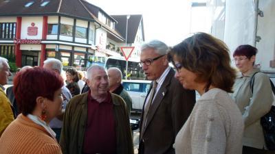 Bild der Meldung: Besuch in der Partnergemeinde Iffezheim vom 07. - 10.10.2010