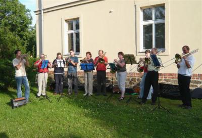 Foto zur Meldung: Turmblasen am Reformationstag