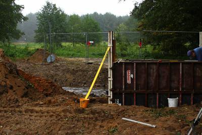 Foto zu Meldung: Bau der Fuß- und Radfahrbrücke Stepenitz