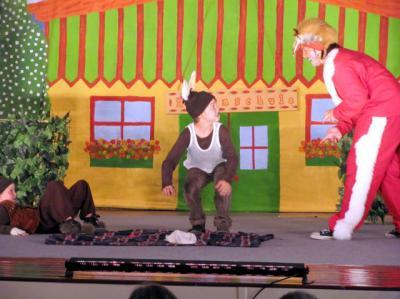 Foto zur Meldung: Holzhaustheater im November