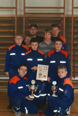 Foto zur Meldung: Hallenwettkampf Jugendwehren