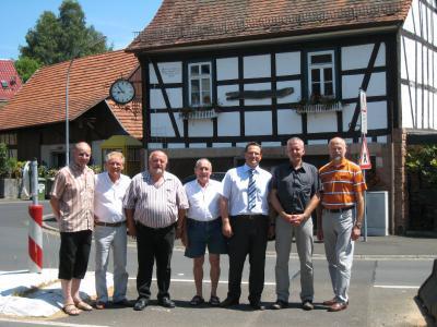Vorschaubild zur Meldung: Die Stadtteile Hesseldorf, Weilers und Neudorf sind gemeinsam Förderschwerpunkt in der Dorferneuerung