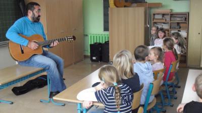 Foto zur Meldung: Buchlesung in der Grundschule