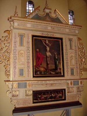 Foto zu Meldung: Der restaurierte Beerfelder Altar ist jetzt wieder vollständig